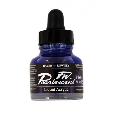 Daler Rowney Pearlescent 29,5Ml Dutch Blue