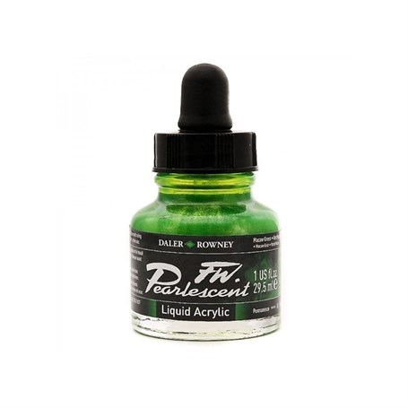 Daler Rowney Pearlescent 29,5Ml Mavaw Green