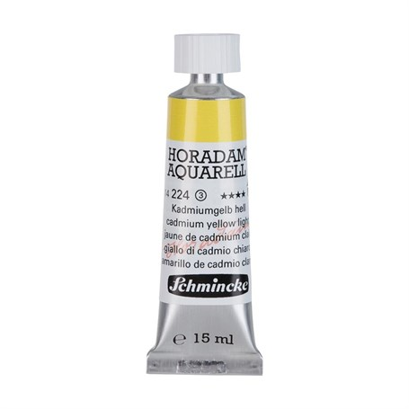 Schmincke Horadam Aquarell Artist Sulu Boya 15 ml Tüp Seri 3 224 Cadmium Yellow Light