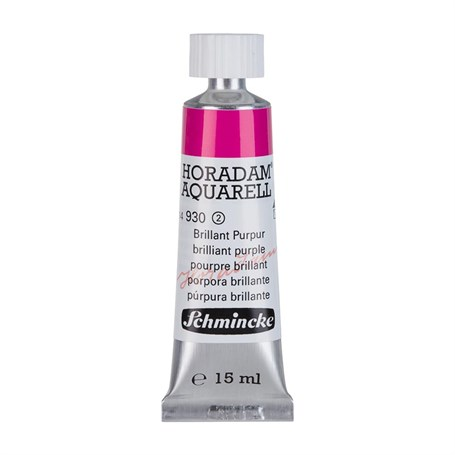 Schmincke Horadam Aquarell Artist Sulu Boya 15 ml Tüp Seri 2 930 Brilliant Purple
