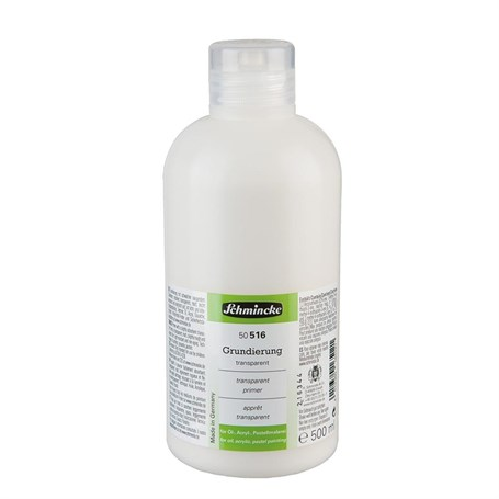 Schmincke Medium 516 Transparent Primer Şeffaf Astar 500 ml