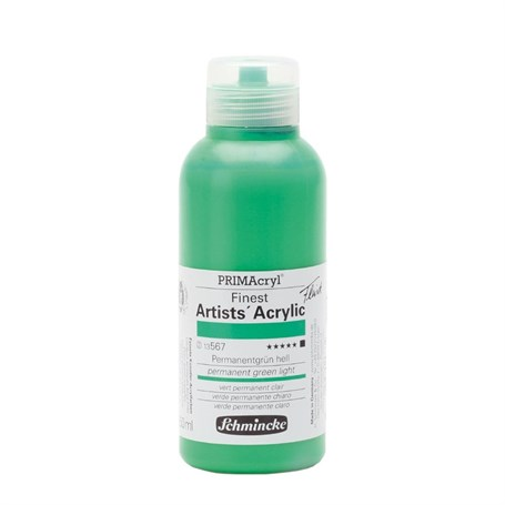 Schmincke Primacryl Artist Akrilik Boya 250 ml Seri 2 567 Permanent Green Light
