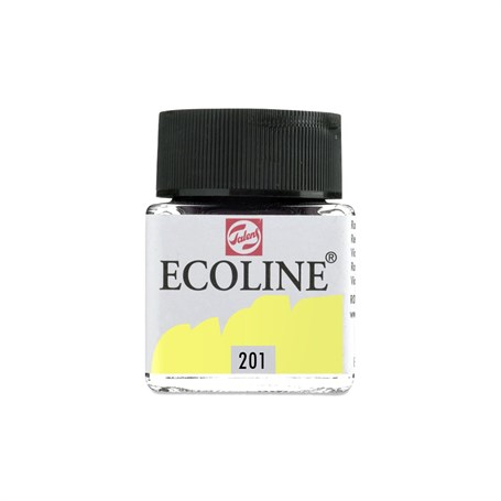 Talens Ecoline Sıvı Sulu Boya 30 ml 201 Light Yellow