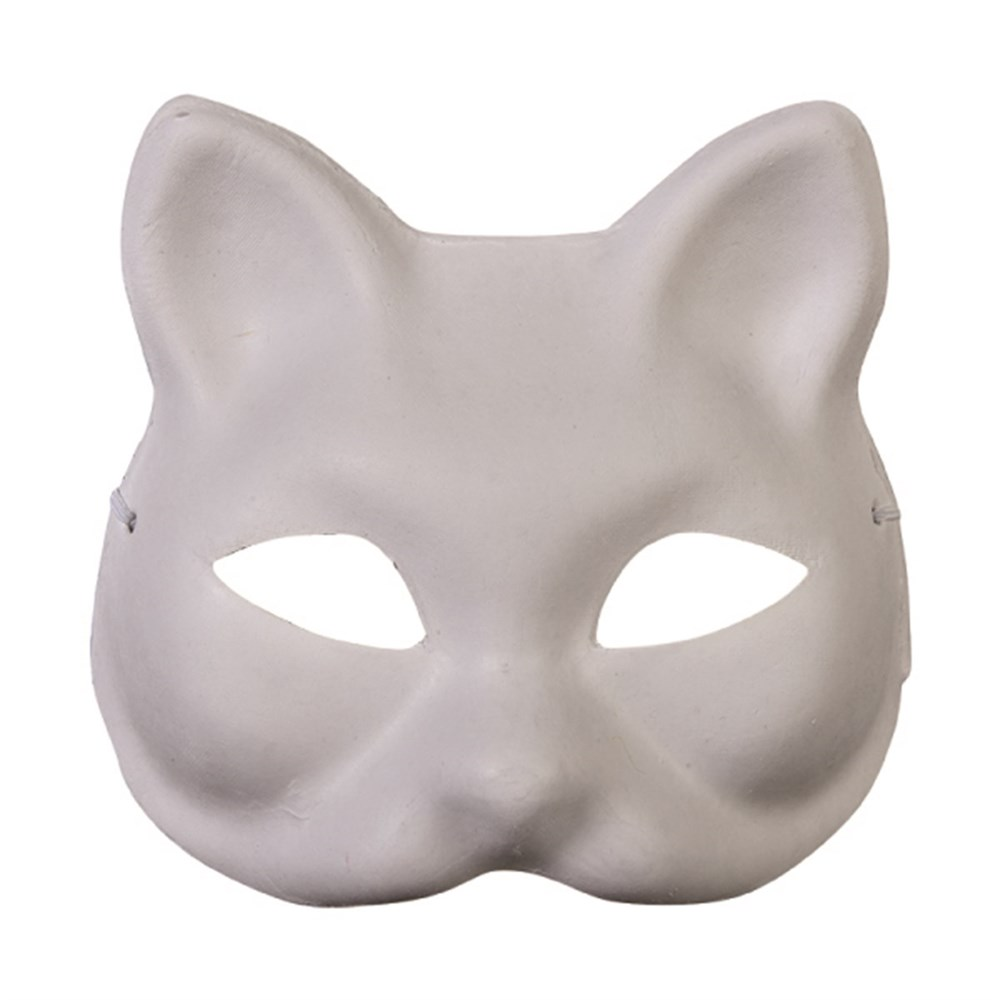 Maske Karton Kedi Karin Art Supplies