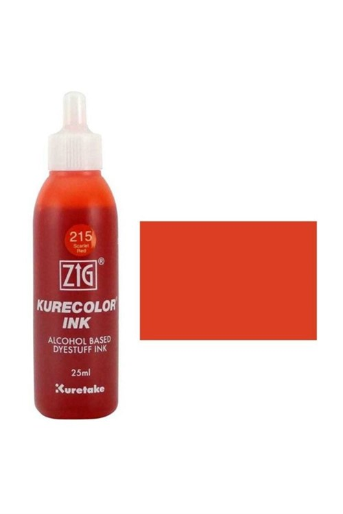 ZİG KURECOLOR MÜREKKEP 25 ML 215 SCARLET RED