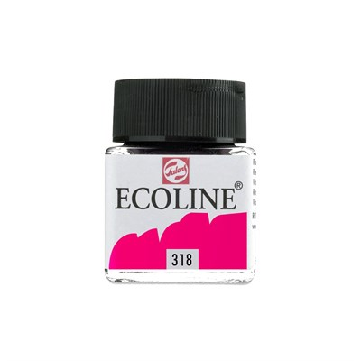 Talens Ecoline Liquid Water Colour 30 ml 318 Carmine