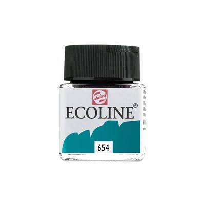 ECOLİNE SIVI SULU BOYA 30 ML 654 FİR GREEN