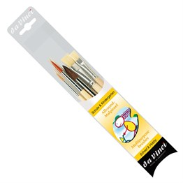 4212 Seri No: 0 School Brush Set 5 Brushes