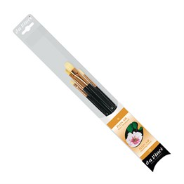 4223 Seri No: 0 Brıstle Brush Set For Oilpainting