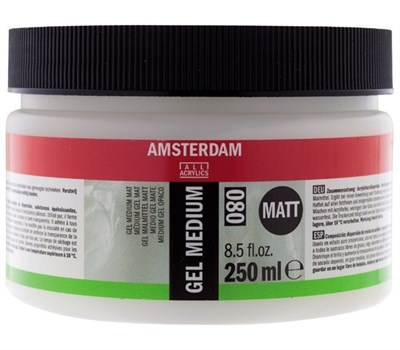 Talens Amsterdam Gel Medium 080 Mat Jel Medyum 250 ml