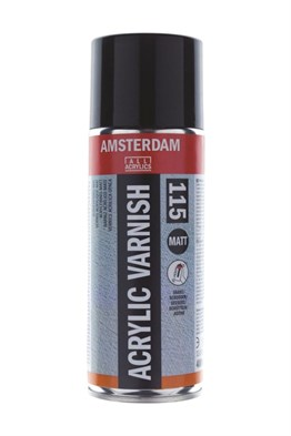 Amsterdam Acrylic Sprey Varnish Matt 400ml