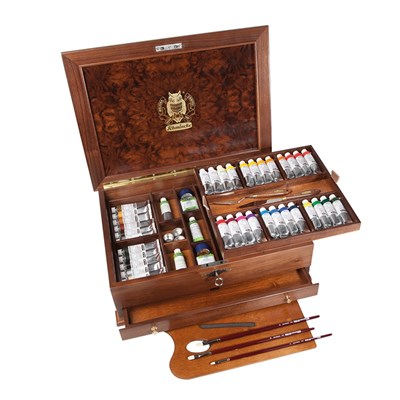 70151097 luxory wooden chest, 36 x35 ml