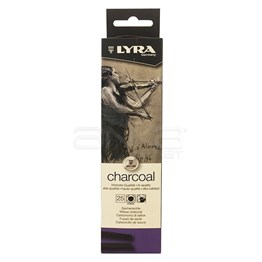 Lyra Charcoals Medium 5-6mm 25 parça Set