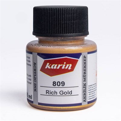 Akrilik Mürekkep Rich Gold 45 Ml