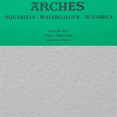 Arches Watercolour Natural White 300gr Cold Pressed 56x76cm