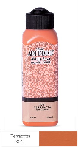 Artdeco Acryclic Paint 140 ml 3041 Terrakota