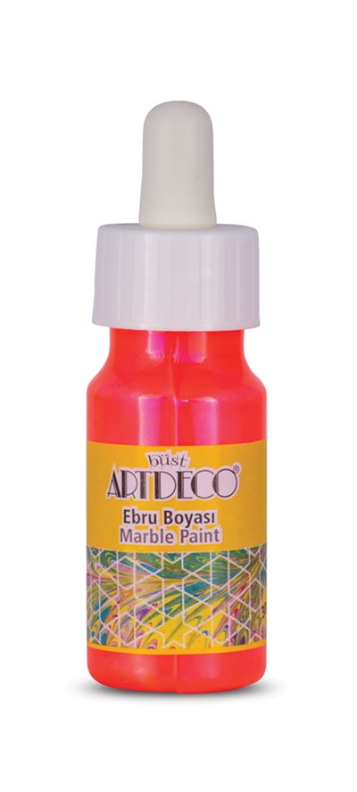 Artdeco Marbling Paint 30 Ml 92 Neon Orange