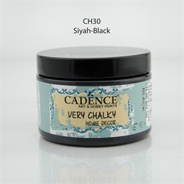 Cadence Very Chalky Home Decor Ch-30 Siyah
