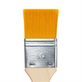 Da Vinci Jumbo Synthetics Flat Brush Series 5076