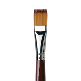 Da Vinci Vario Tip Synthetic Flat Brush Series 1381