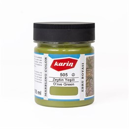 Karin Marbling Paint 105 Ml 505 Olive Green