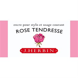J. Herbin D Fountain Pen Ink Bottle 30 Ml 13061T Rose Tendresse