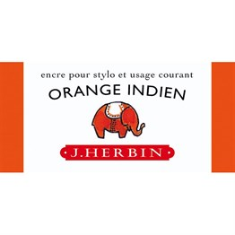 J. Herbin D Fountain Pen Ink Bottle 30 ml 13057T Orange Indien