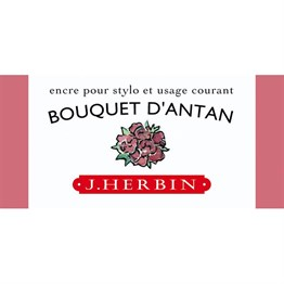 J. Herbin D Fountain Pen Ink Bottle 30 Ml 13064T Bouquet DAntan