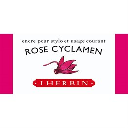 J. Herbin D Fountain Pen Ink Bottle 30 Ml 13066T Rose Cyclamen
