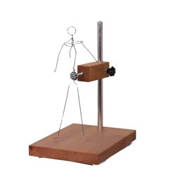 Karin Adjustable Table Top Sculpture Stand 30 cm