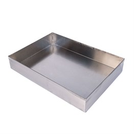 Karin Stainless Steel Marbling Tray A4 21 X 30 Cm