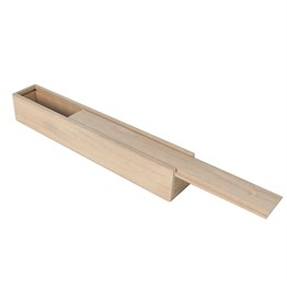 Karin Wooden Box (Slide) 23 cm