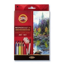 Koh-i Noor Dilutable paint pencil set 3711 24