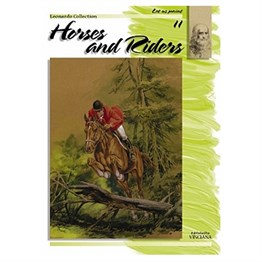 Leonardo Collection Desen Kitabı Horses And Riders N: 11 Atlar ve Jokeyler N: 10