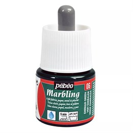 Pebeo Marbling Paint 45 ml Bottle 06 Emerald Green
