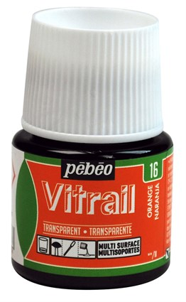 Pebeo Vitrail Cam Boyası 45 ml 16 Orange