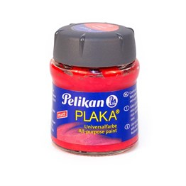 Pelikan Plaka Boyası Matt 50 ml 23 Signal Red