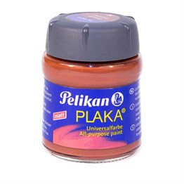 Pelikan Plaka Boyası Matt 50 ml 52 Red Brown