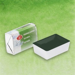 Sap Green Semi-Dry Watercolour İn Plastic Pan