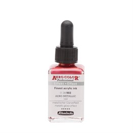 Schmincke Aero Color Professional Finest Acrylic Ink 28 ml S: 1 903 Aero Metallic Red