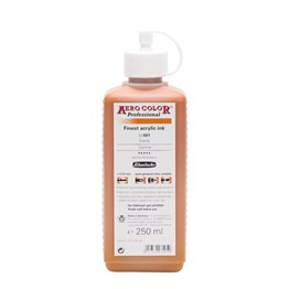 Schmincke Aero Color Professional Finest Acrylic Ink 250 Ml 601 Sienna