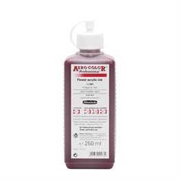 Schmincke Aero Color Akrilik Mürekkep 250 ml 301 Red Madder Dark