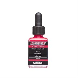 Schmincke Aero Color Akrilik Mürekkep 28 ml 833 Ruby Red