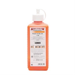 Schmincke Aero Color Akrilik Mürekkep 250 ml 204 Cadmium Orange Hue