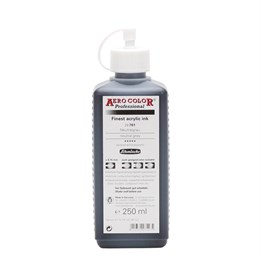 Schmincke Aero Color Akrilik Mürekkep 250 ml 701 Neutral Grey