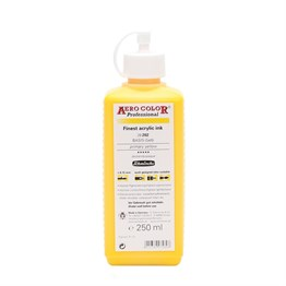 Schmincke Aero Color Akrilik Mürekkep 250 ml 202 Primary Yellow