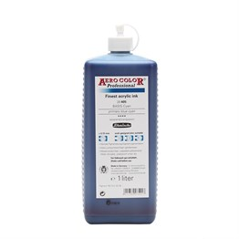 Schmincke Aero Color Akrilik Mürekkep 1000 ml 405 Primary Blue Cyan
