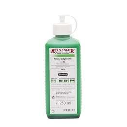 Schmincke Aero Color Akrilik Mürekkep 250 ml 502 Permanent Green