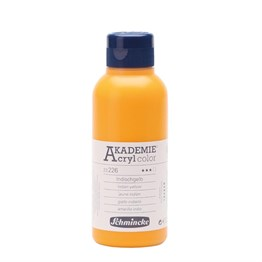 Schmincke Akademie Acryl Color Akrilik Boya 250 ml 226 Indian Yellow
