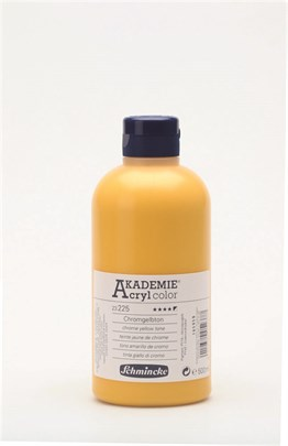 Schmincke Akademie Akrilik Boya 500 Ml 225 Chrome Yellow Hue
